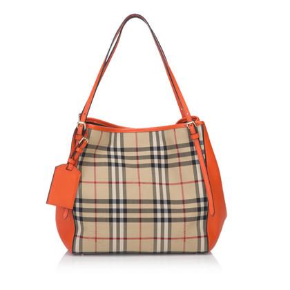 Burberry Canter Horeseferry Check Jacquard Tote Bag