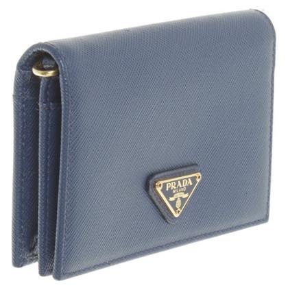 Prada Wallet in blauw