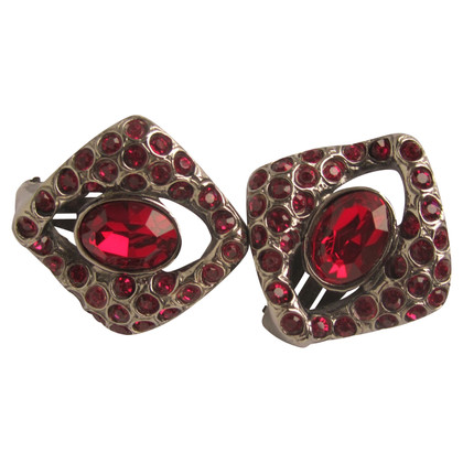 Yves Saint Laurent Vintage clip on earrings.
