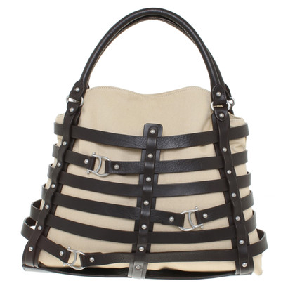 Aigner Handbag with leather braid