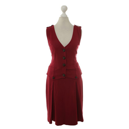 Moschino Love Dress in Burgundy