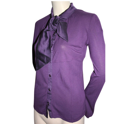 Max Mara String blouse in paars