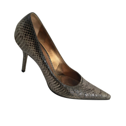 Dolce & Gabbana Pumps in Reptil-Optik