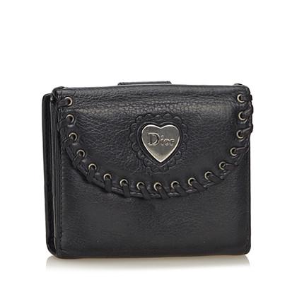 Christian Dior Leren Wallet