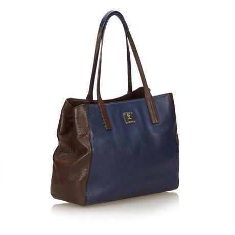 MCM Tote Bag Blau Erstaunlicher Preis Online 6Bi4mJ3ry