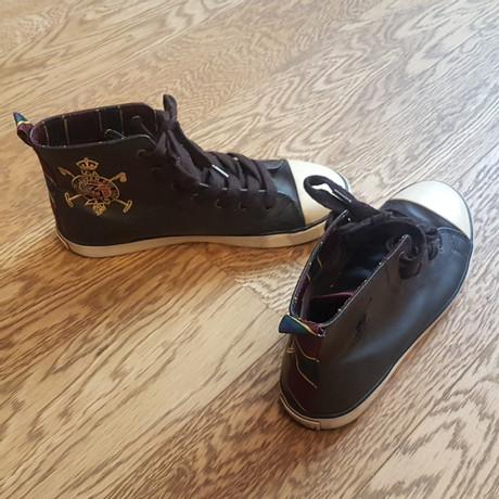 Polo Ralph Lauren Sneakers Braun Billig Verkauf Sehr Billig Steckdose Countdown-Paket IgRuJNfotY