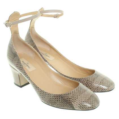 Valentino pumps in taupe