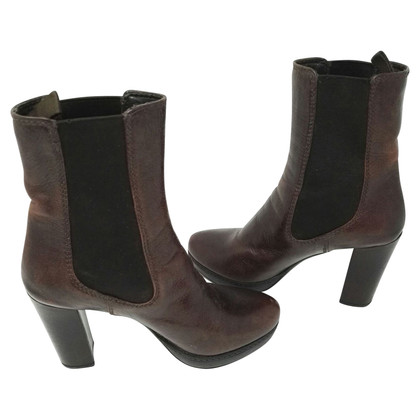Prada Ankle boots with plateau