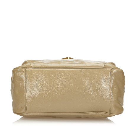 Yves Saint Laurent Handtasche Beige Großer Verkauf Günstiger Preis Freies Verschiffen Preiswerter Preis Billig Verkauf 2018 an6JPbW6p7
