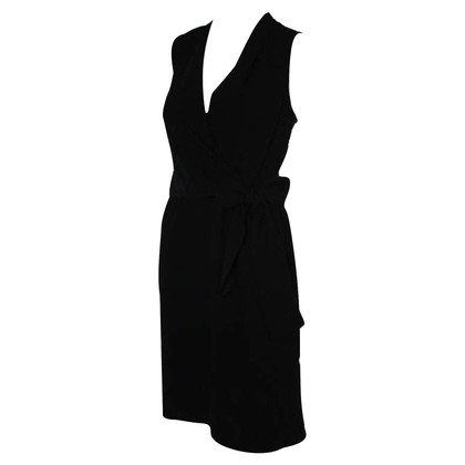 Michael Kors wrap dress nero