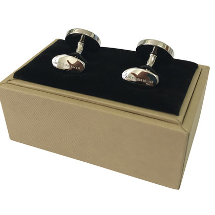 Burberry Silver colored cuff links