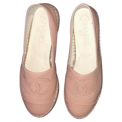 Chanel Espadrilles in Nude