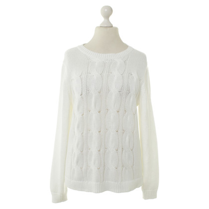 J. Crew Knit pullover in white