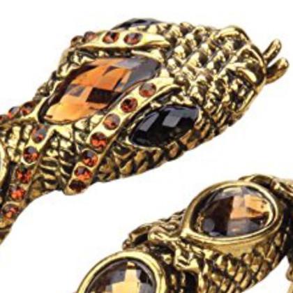 Valentino Bracelet vintage de couleur or