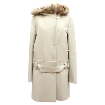 Prada Coat with hood and details