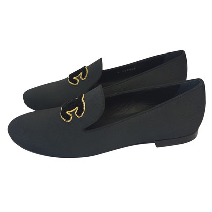Chanel Loafer with logo application