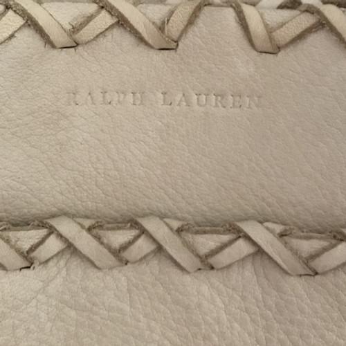 Ralph Lauren Umhängetasche mit Fransendekor Creme rqJBz