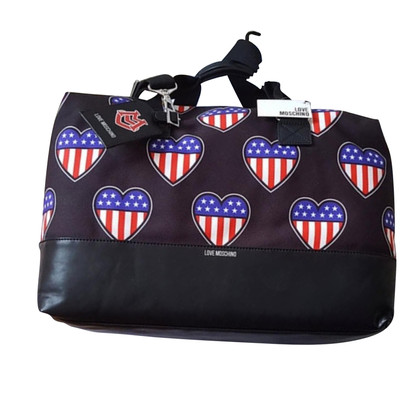 Moschino Love Travel bag with pattern