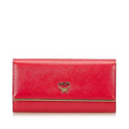 "MCM ""Ivana Bloom Trifold Long Wallet"""