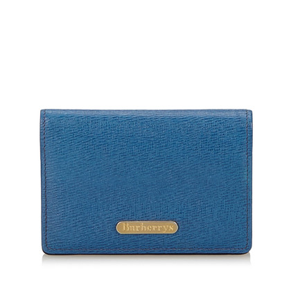 Burberry Porta carte in blu