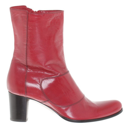 Costume National Bottes en rouge