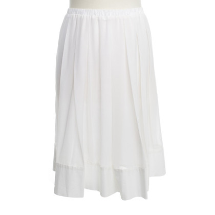 Schumacher Pleated skirt in white