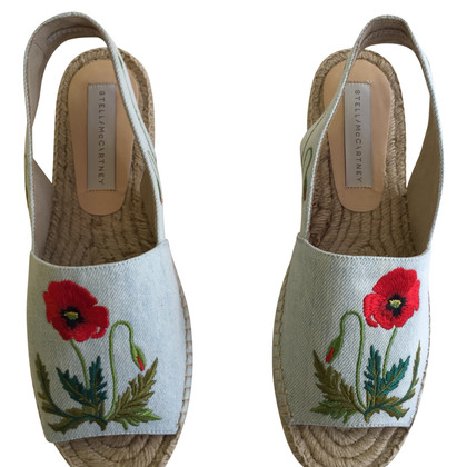 Stella McCartney Espadrilles with embroidery