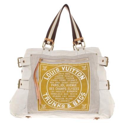 Louis Vuitton Strandtas in beige
