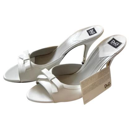 Dolce & Gabbana Mules in wit