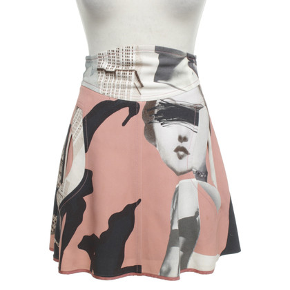 Carven skirt with motif print