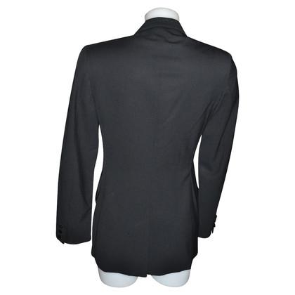 Gucci Zwarte wol jas