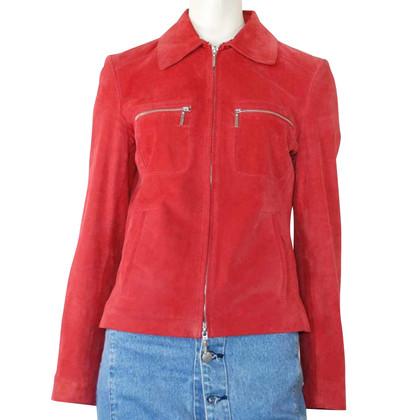 Arma giacca di camoscio stile corto