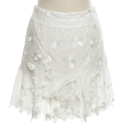 Karen Millen Rock in White
