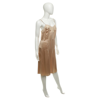 Chloé Silk dress in Nude