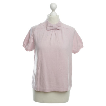 Red Valentino Short-sleeved sweater in pink