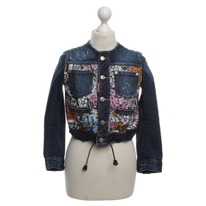 Dsquared2 Jeansjacke in Blau