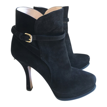 Prada Plateau ankle boot, suede