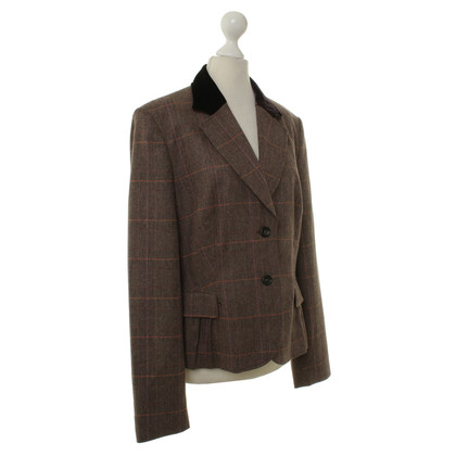 St. Emile Blazer with check pattern