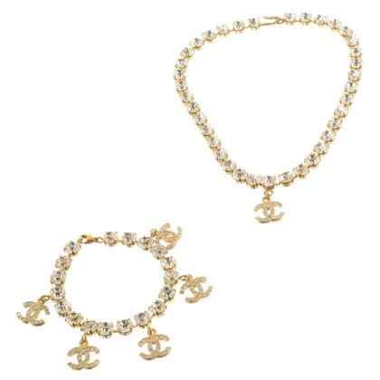 Chanel Set van ketting en armband