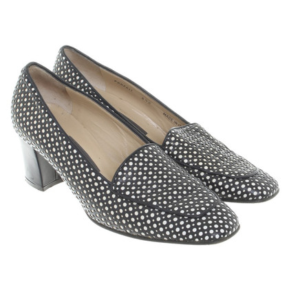 Bally Penny Loafer en noir / blanc