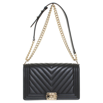 "Chanel ""Boy Bag New Medium"" kalfsleer"