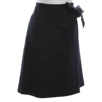 Moschino Wrap skirt in wool