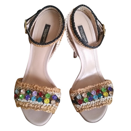 Dolce & Gabbana Stilettos with gemstones