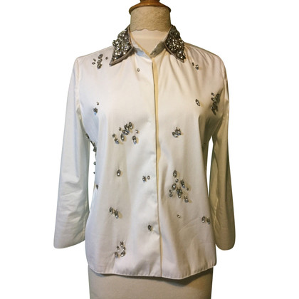 Prada Shirt with rhinestones