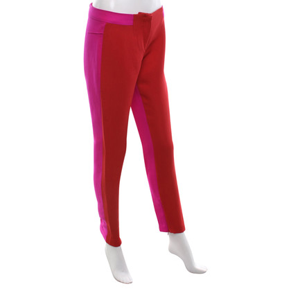 Costume National Pantalon en Bicolor