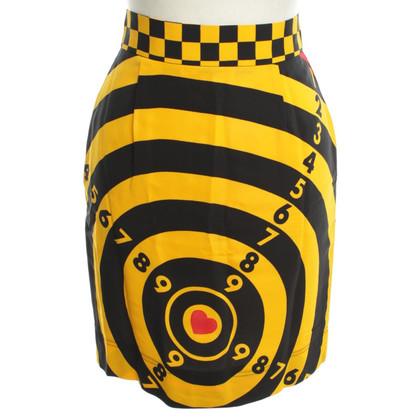 Moschino skirt Dart boards design