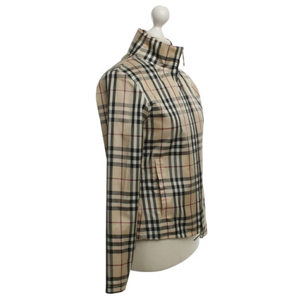 Burberry Summer jacket with check pattern