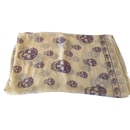 Alexander McQueen Alexander McQueen sjaal Beige