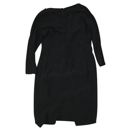 Salvatore Ferragamo Salvatore ferragamo zwarte zijden jurk