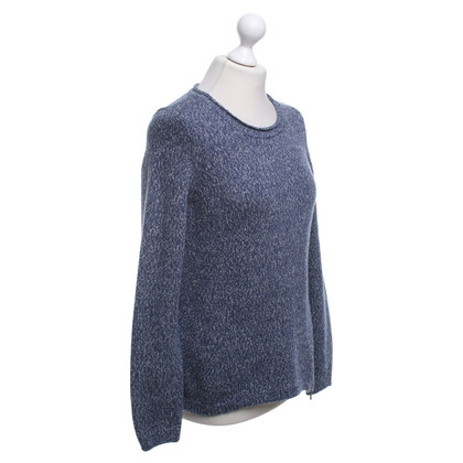 Comptoir des Cotonniers Knitted sweater in blue / grey